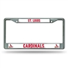 St. Louis Cardinals MLB Chrome License Plate Frame