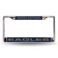 Georgia Southern Eagles NCAA Laser Chrome License Plate Frame