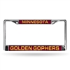 Minnesota Golden Gophers NCAA Laser Chrome Frame
