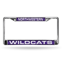 Northwestern State Demons NCAA Laser Chrome Frame
