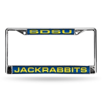 South Dakota State Jackrabbits NCAA Laser Chrome Frame