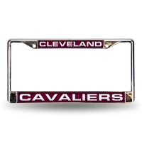 Cleveland Cavaliers NBA Laser Chrome Frame