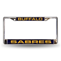 Buffalo Sabres NHL Laser Chrome License Plate Frame