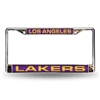 Los Angeles Lakers NBA Laser Chrome Frame