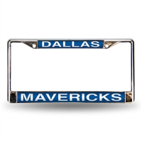 Dallas Mavericks NBA Laser Chrome Frame