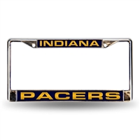 Indiana Pacers NBA Laser Chrome Frame