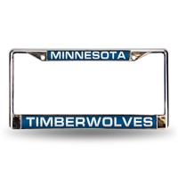 Minnesota Timberwolves NBA Laser Chrome Frame