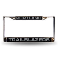 Portland Trail Blazers NBA Laser Chrome Frame