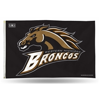 Western Michigan Broncos NCAA 3in x 5in Banner Flag
