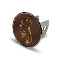 Wyoming Cowboys NCAA Laser Cut Hitch Cover