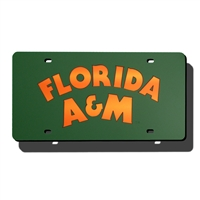 Florida A&M Rattlers NCAA Laser Cut License Plate Cover