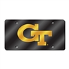 Georgia Tech Yellowjackets NCAA Laser Cut License Plate Cover