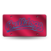 Fresno State Bulldogs NCAA Laser Cut License Plate Tag