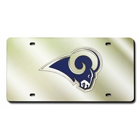 St. Louis Rams NFL Laser Cut License Plate Cover