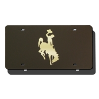 Wyoming Cowboys NCAA Laser Cut License Plate Cover