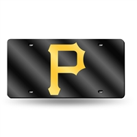 Pittsburgh Pirates MLB Laser Cut License Plate Tag