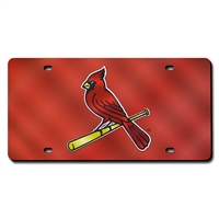 St. Louis Cardinals MLB Laser Cut License Plate Cover