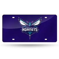 Charlotte Hornets NBA Laser Cut License Plate Cover Colored