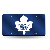 Toronto Maple Leafs NHL Laser Cut License Plate Tag