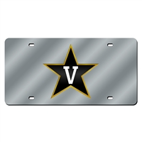 Vanderbilt Commodores NCAA Laser Cut License Plate Cover
