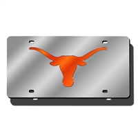 Texas Longhorns NCAA Laser Cut License Plate Cover