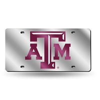 Texas A&M Aggies NCAA Laser Cut License Plate Tag