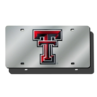 Texas Tech Red Raiders NCAA Laser Cut License Plate Cover