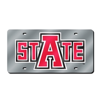 Arkansas State Red Wolves NCAA Laser Cut License Plate Cover