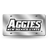 New Mexico State Aggies NCAA Laser Cut License Plate Tag