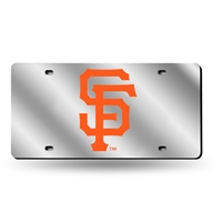 San Francisco Giants MLB Laser Cut License Plate Tag
