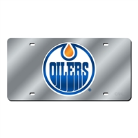 Edmonton Oilers NHL Laser Cut License Plate Cover