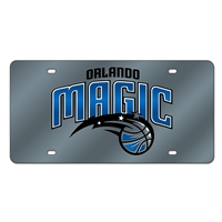 Orlando Magic NBA Laser Cut License Plate Cover