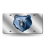 Memphis Grizzlies NBA Laser Cut License Plate Tag