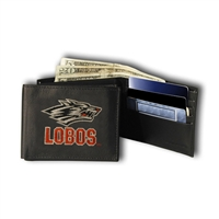 New Mexico Lobos NCAA Embroidered Billfold Wallet