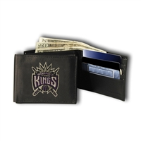 Sacramento Kings NBA Embroidered Billfold Wallet