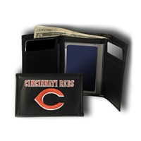 Cincinnati Reds MLB Embroidered Trifold Wallet
