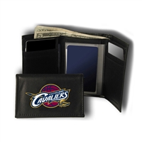 Cleveland Cavaliers NBA Embroidered Trifold Wallet