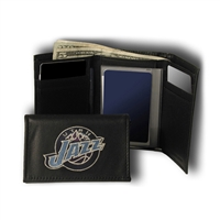 Utah Jazz NBA Embroidered Trifold Wallet