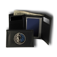 Dallas Mavericks NBA Embroidered Trifold Wallet