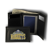 Denver Nuggets NBA Embroidered Trifold Wallet