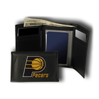 Indiana Pacers NBA Embroidered Trifold Wallet