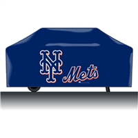 New York Mets MLB Economy Barbeque Grill Cover
