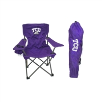 Texas Christian Horned Frogs NCAA Ultimate Junior Tailgate Chair