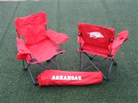Arkansas Razorbacks Junior Ultimate Tailgate Chair