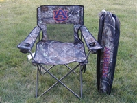 Auburn Tigers Realtree Camo Chair