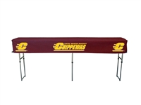 Central Michigan Chippewas Fitted Canopy Table Cover