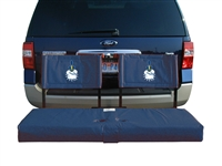 Citadel Bulldogs Tailgate Hitch Seat Cover