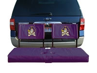 East Carolina Pirates Tailgate Hitch Seat Cover