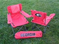 Georgia Bulldogs Junior Ultimate Tailgate Chair - Red
