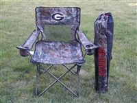 Georgia Bulldogs Realtree Camo Chair